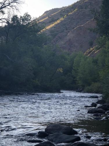 Clear Creek Shimmers