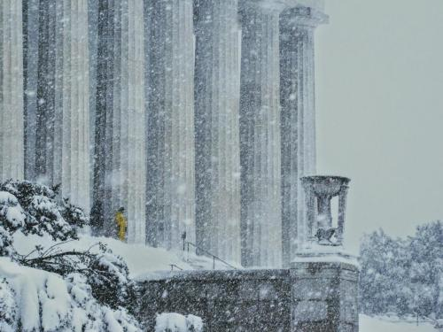 Lincoln Memorial, Epic Storm